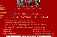 Rasyonel Duygucu Bilişsel Davranışçı Terapi Eğitimi YÖK onayli