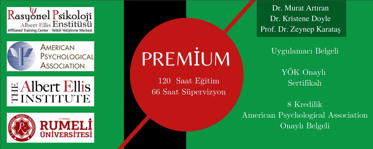 RDDT BDT Premium Programı 12 kur ve 66 saat süpervizyon